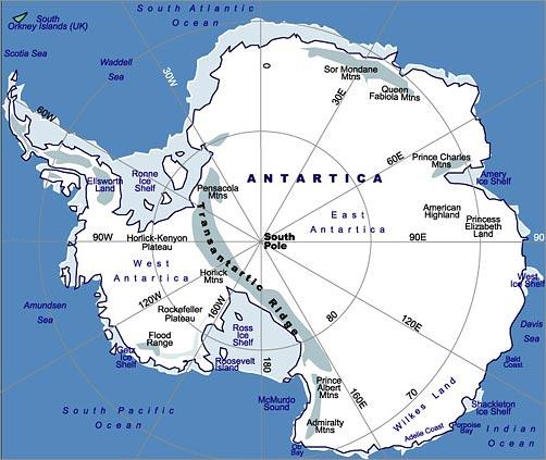 Het laatste continent geografie van antarctica - Aperitief plateau huis van de wereld ...
